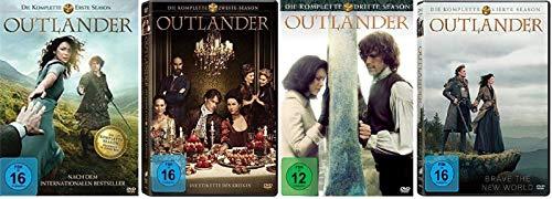 Outlander Staffel 1-4 (1+2+3+4, 1 bis 4) [DVD Set]