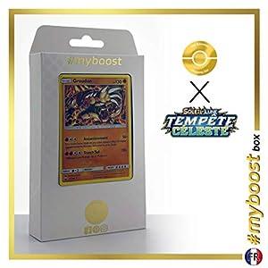 Groudon 81/168 Holo - #myboost X Soleil & Lune 7 Tempête Céleste - Box de 10 Cartas Pokémon Francés