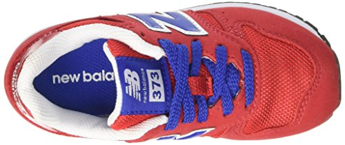 New Balance Kj373rdy M, Sneakers Basses Mixte Enfant, Rosso/Blu Rouge (Red)