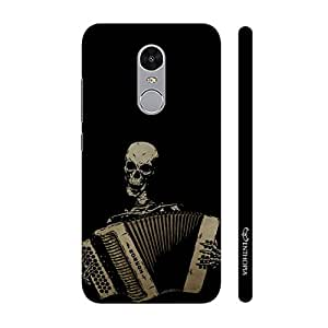 Enthopia Designer Hardshell Case Dead Man Playing Back Cover for Lenovo K6