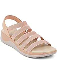 tresmode Women Casual Synthetic Sandals