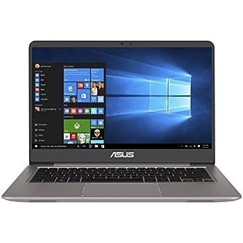 Asus Zenbook UX3410UA-GV078T 35,5 cm (14 Zoll mattes Full-HD Display) Laptop (Intel Core i7-7500U, 16GB RAM, 512GB SSD, Intel HD Graphik, Win 10) silber