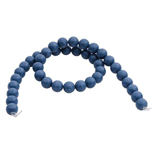 10 Millimetri Di Corallo Blu Sintetico Perle Tonde Filo Allentato 15.7 (10 Millimetri Sintetico Perle)