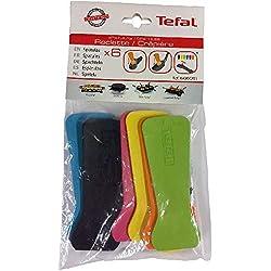 Tefal XA900203 6 Spatules pour Appareil à Raclette