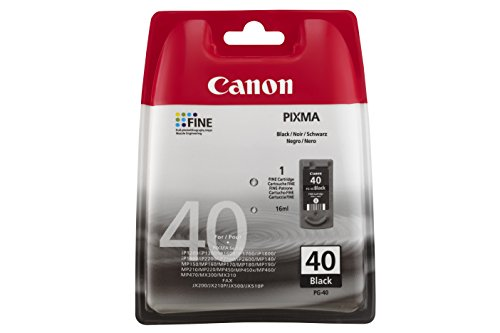 Canon 0615B042 PG-40 Tintenpatrone schwarz Blister with security - Cartridge Ink Pg-40