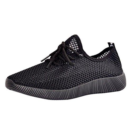 Baskets FantaisieZ Chaussures de Course Hommes Gym Chaussures Casual Baskets Respirantes Cross Straps Chaussures de Course en Maille Solide