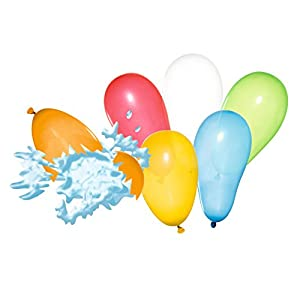 Susy Card 40011226 Globos de agua, colores variados, 100 unidades. , Modelos/colores Surtidos, 1 Unidad