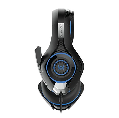 Kotion Each GS410 Headphones with Mic and for PS4, Xbox One, Laptop computer, PC, iPhone and Android Telephones(Blue) Image 3