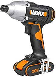 WORX 20V Impact Driver, 140Nm, 1 * 2.0Ah, 1hr charger, injection box