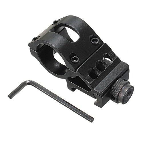"""CAMTOA 1\"""" 25mm Zielfernrohr Montage mit Stopperstift für Optik 20 mm Picatinny Schiene"""