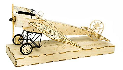 Rc Balsaholz-flugzeuge-kits (arkai Micro Fokker Eindecker Kit Standflugmodell (auch für RC Ausbau!))