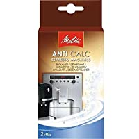 Melitta Anticalc (2x 40g) for Espresso/Coffee Machines
