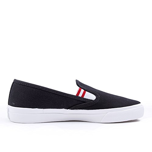 Fred Perry Turner Slip On Heavy Canvas Navy Blue