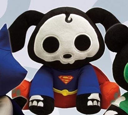 Skelanimals Superman Dax Deluxe Peluche