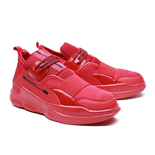 Men's Warm Breathable Outdoor Running Shoes red