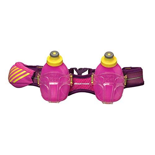 Nathan Mercury 2 - Cinturón de hidratación para running, color rosa,