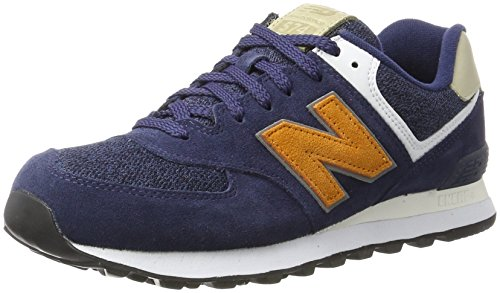 new balance 574 uomo navy