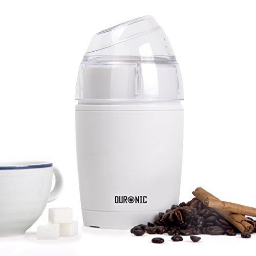 """Duronic CG150 - Macina caffè elettrico - lame in acciaio INOX - Spina tipo """"F"""" (Tedesca)"""