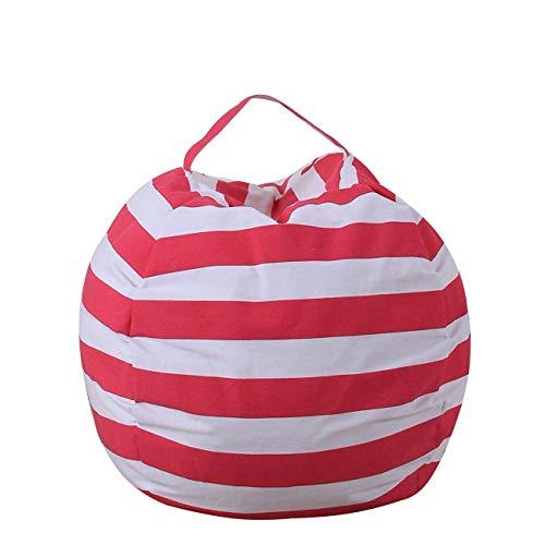 Hellohouse Sitzsack/Sitzsack für Kinder, aus Segeltuch, Stofftiere, Decken rosarot