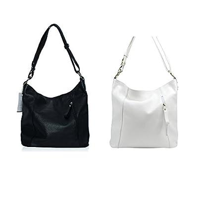 OH MY BAG Sac porté épaule Cuir porté épaule et main femmes en véritable cuir fabriqué en Italie - modèle SO CHIC