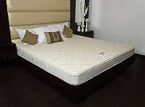 Coirfit Health Spa 6-inch Double Size Memory Foam Mattress (Off-White, 80x60x6)
