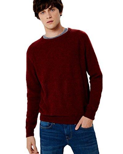 Pepe Jeans Herren Pullover blau Marineblau Burnt Red