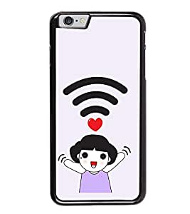 WiFI Girl Love Back Case Cover for APPLE I PHONE 6S PLUS