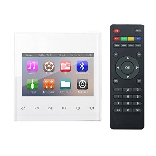 HELMER Amplificador Bluetooth, Sistema de Audio estéreo en casa, 3