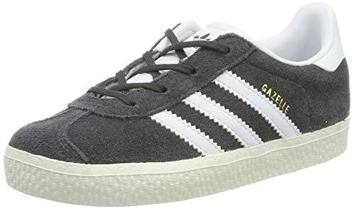 adidas Originals Gazelle I Schuhe Kinder Sneaker Turnschuhe Grau BB2512, Größenauswahl:27 -