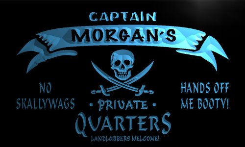 enseigne-lumineuse-pw508-b-morgans-captain-private-quarters-skull-bar-beer-neon-light-sign