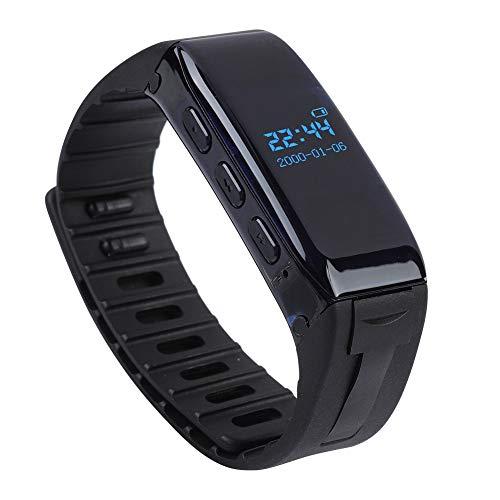 Garsent Armband Digitales Diktiergerät, drahtloses 8GB USB Voice Recorder, tragbar Audiorecorder mit Armband für Vorträge, Meetings, Interviews
