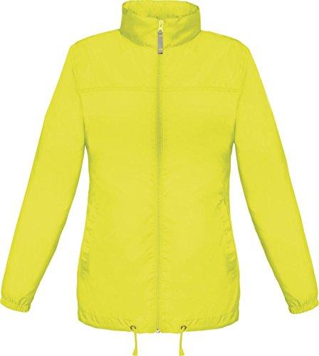 B & C Damen kaltem Wetter winterwear Warm Coat Sirocco Frauen Full Zip Jacket - Ultra Yellow