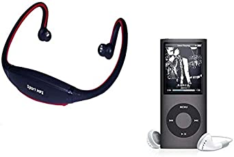 Tronomy 2nd MP4 4th Gen MP4 Player Video & Audio with 1stSporty Wireless Sports MP3