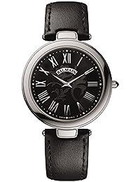 amazon co uk balmain swiss made watches balmain men s haute elegance ultra flat leather band quartz watch b8061 32 62