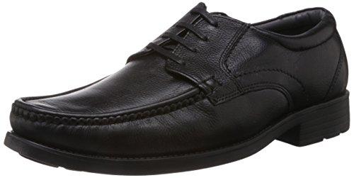 83461303b4e0 Hush Puppies Men s Mocca Zero G Black Leather Formal Shoes India - 9 UK