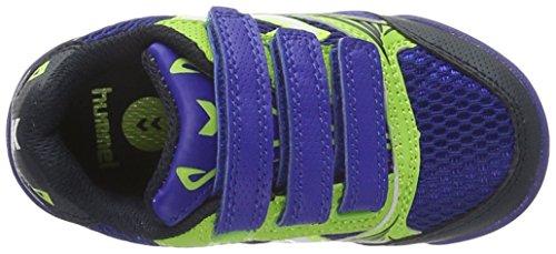 Hummel Root, Chaussures de Fitness Mixte Enfant Bleu (Surf The Web)