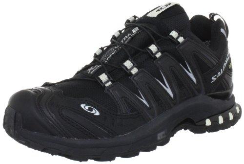 Salomon XA Pro 3D Ultra 2 GTX® L30894400, Damen Sportive Sneakers, Schwarz (Black/Asfalt/Light Grey), EU 38 (UK 5)