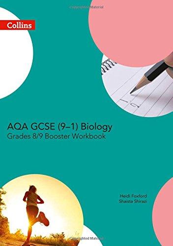 AQA GCSE Biology 9-1 Grade 8/9 Booster Workbook (GCSE Science 9-1) por Collins UK