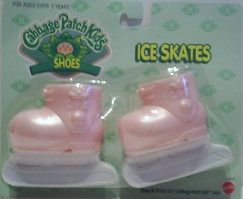 cabbage-patch-kids-cpk-dolls-shoes-pink-ice-skates-14-poupees-chaussures