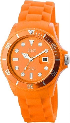 Just Watches unisex-Orologio da polso al quarzo gomma 48-S5457-OR