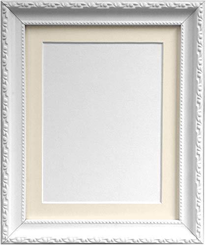 Frames by post, cornice fotografica stile shabby chic, plastica, white, 20 x 16 inches image size a3 (plastic glass)
