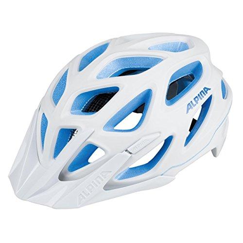 ALPINA Damen Mythos 3.0 L.E. Fahrradhelm, White-Blue, 57-62 cm -