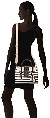 GUESS Donna Borse HWBG6856050 Nuova Collezione 2018 Multicolore (Black Stripe)