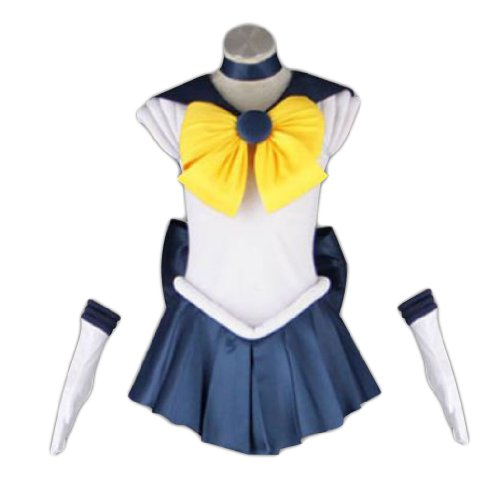 Dream2Reality japanische Anime Sailor Moon Cosplay Kostuem -Sailor Uranus Tenoh Haruka 1st Ver Fighting X-Small