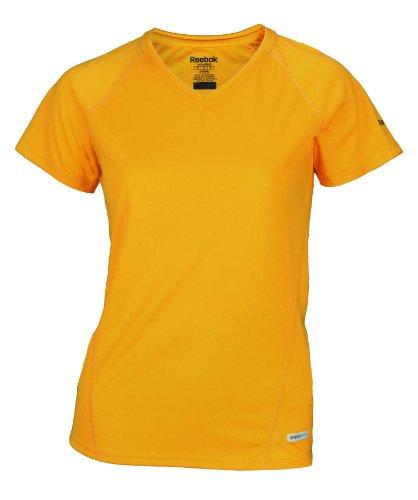 Reebok - T-shirt de sport - Fille Multicolore - Doré
