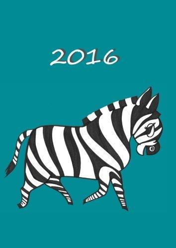 MY BIG FAT CALENDAR 2016 - MY ZEBRA: 1 day per page, DIN A4 by edition cumulus (2015-08-30)