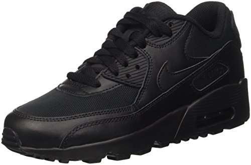 nike-air-max-90-mesh-gs-entranement-de-course-garon-noir-black-black-38-eu