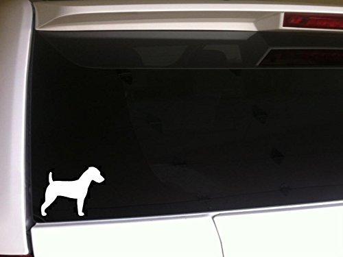 Jack Russell Terrier Silhouette 5.5 Vinyl Sticker *G81 Animals by DesignsThatStick