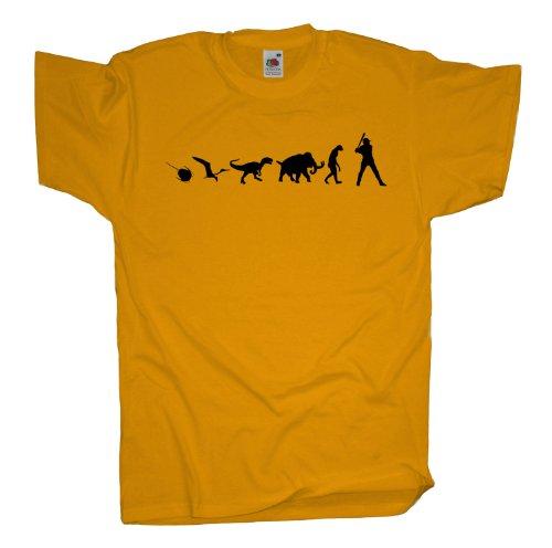 Ma2ca - 500 Mio Years - Baseball T-Shirt Sunflower