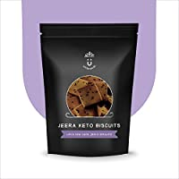 Unsnack - Keto Jeera Biscuits (400g) | Delicious Ketogenic Biscuits